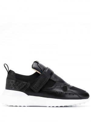 Tods кроссовки со вставками Tod's. Цвет: черный