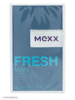 Туалетная вода Mexx Fresh Man. Цвет: прозрачный