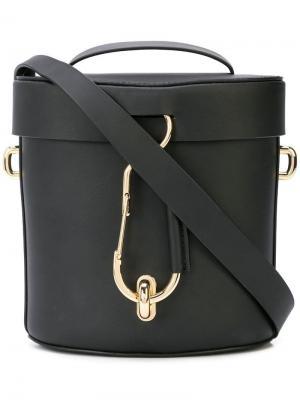 Belay crossbody bag Zac Posen. Цвет: черный
