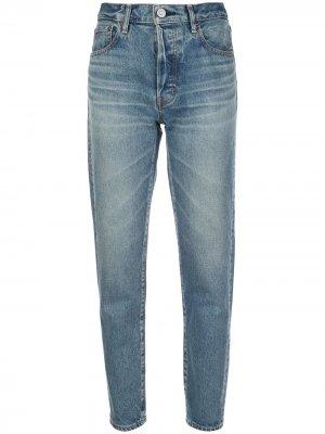 Зауженные джинсы Kepter Moussy Vintage. Цвет: синий