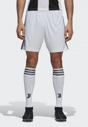 Шорты спортивные adidas. Цвет: белый