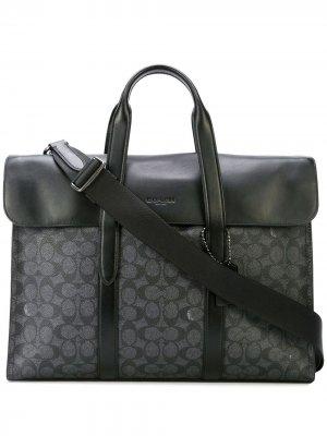 Портфель Metropolitan Portfolio Coach. Цвет: серый