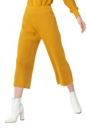 Комплект: свитер, брюки BGN. Цвет: honey gold