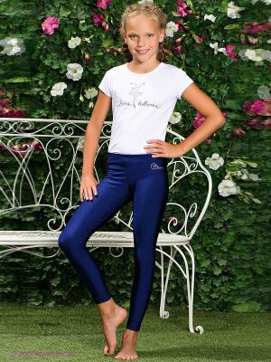 Леггинсы Arina Ballerina. Цвет: синий