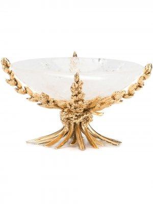 Чаша в стиле барокко Goossens. Цвет: золотистый