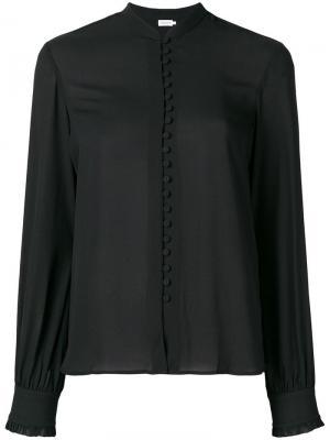 Sheer button blouse Filippa-K. Цвет: черный