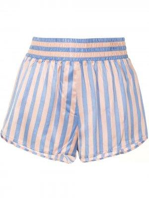 Пижамные шорты Corey Morgan Lane. Цвет: розовый