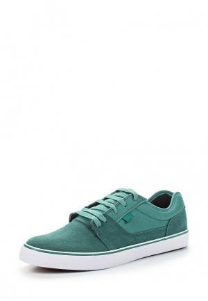 Кеды DC Shoes. Цвет: бирюзовый