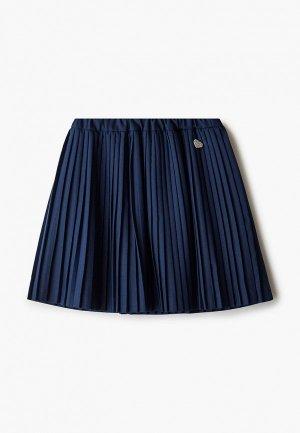 Юбка Button Blue. Цвет: синий