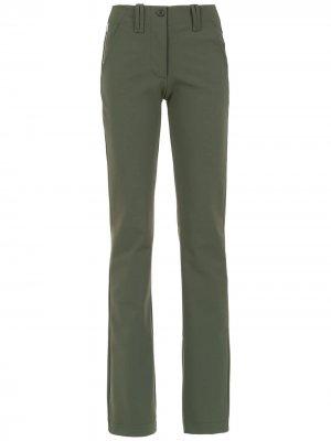 Straight pants Gloria Coelho. Цвет: зеленый