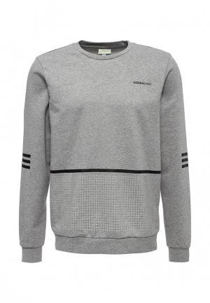 Свитшот adidas Neo. Цвет: серый