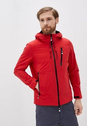 Куртка утепленная Tatras. Цвет: красный