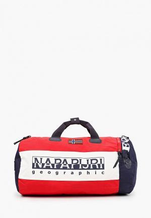 Сумка спортивная Napapijri. Цвет: красный