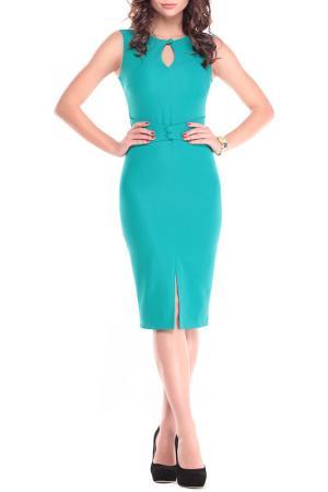 Платье Dioni. Цвет: зеленый