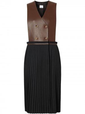 Платье-сарафан Burberry. Цвет: черный