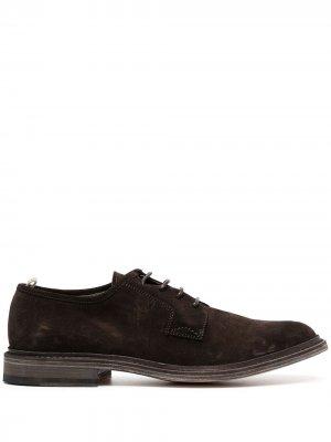 Туфли дерби Durham Officine Creative. Цвет: коричневый
