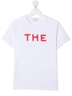 Футболка с логотипом The Marc Jacobs Kids. Цвет: белый