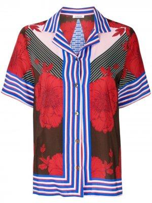 Блузка в технике пэчворк P.A.R.O.S.H.. Цвет: красный