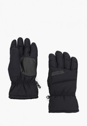 Перчатки горнолыжные Ziener. Цвет: черный