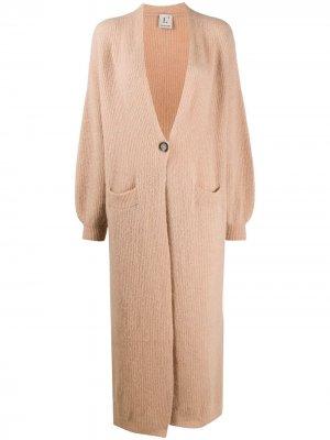 LAutre Chose длинный кардиган-пальто L'Autre. Цвет: нейтральные цвета