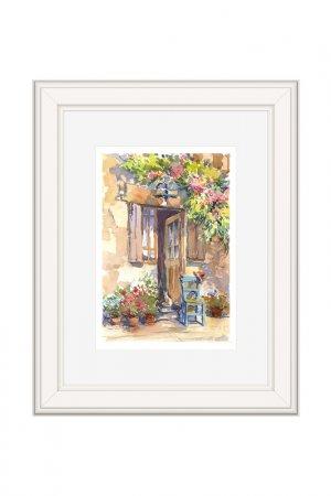 Картина Дома OLGA GLAZUNOVA. Цвет: коричневый
