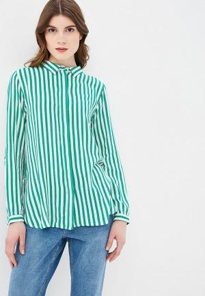 Рубашка b.young. Цвет: зеленый