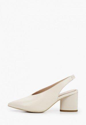 Туфли Just Couture. Цвет: белый