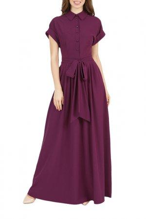 Платье Olivegrey. Цвет: лилово-бордовый