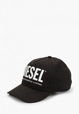 Бейсболка Diesel. Цвет: черный