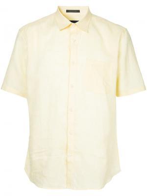 Durban рубашка с короткими рукавами D'urban. Цвет: желтый