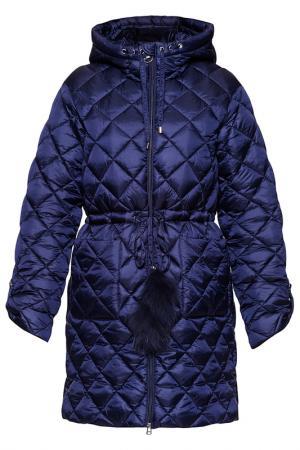 Пальто ODRI MIO. Цвет: мультицвет