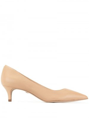 Туфли Dori на каблуке-рюмке Sam Edelman. Цвет: коричневый
