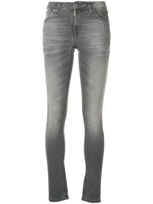 Джинсы скинни Nudie Jeans Co. Цвет: серый