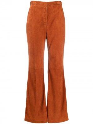 Расклешенные брюки Gabriela Hearst. Цвет: оранжевый