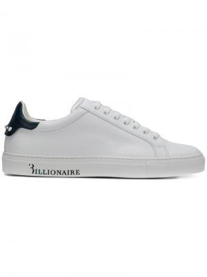 Кроссовки Amau Billionaire. Цвет: белый