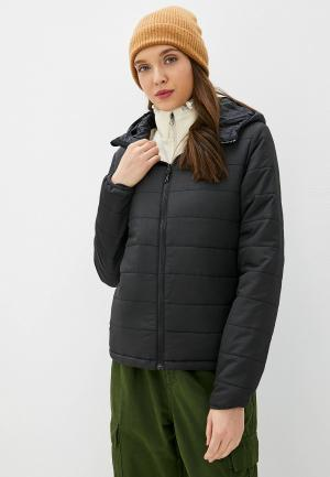 Куртка утепленная Billabong. Цвет: черный