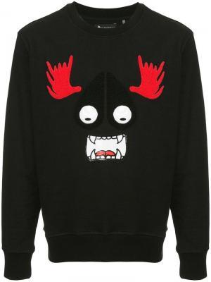 Munster sweatshirt Moose Knuckles. Цвет: черный