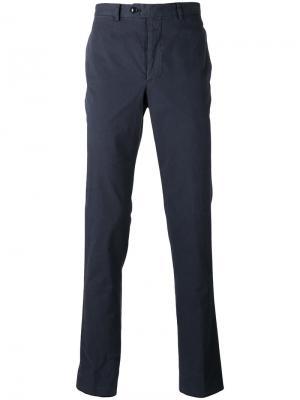 Классические брюки-чинос Officine Generale. Цвет: синий