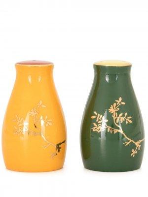 Солонка и перечница Forbidden Garden Shanghai Tang. Цвет: желтый