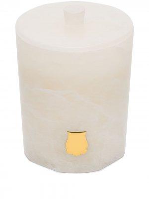 Свеча Alabasters Cire Trudon. Цвет: белый