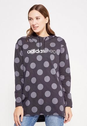 Худи adidas Neo. Цвет: серый