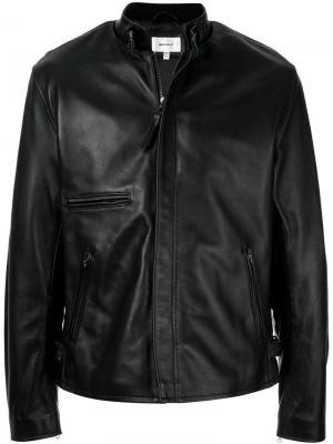 Байкерская куртка Makavelic. Цвет: черный