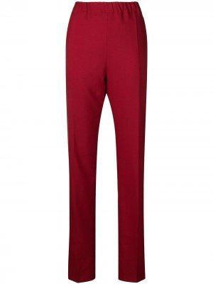 Зауженные брюки Marni. Цвет: красный