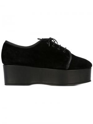 Туфли на платформе Batman Minimarket. Цвет: черный
