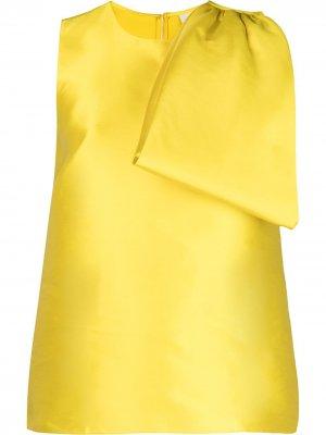 Блузка Georgina с бантом Sachin & Babi. Цвет: желтый