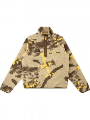 Пуловер Cactus Jack на молнии Travis Scott. Цвет: коричневый