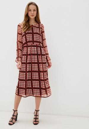 Платье BlendShe. Цвет: бордовый