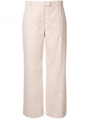 Расклешенные брюки Agnona. Цвет: нейтральные цвета