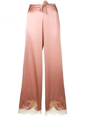 Пижамные брюки Gina Gilda & Pearl. Цвет: розовый