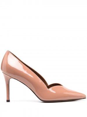 LAutre Chose лакированные туфли-лодочки с заостренным носком L'Autre. Цвет: нейтральные цвета